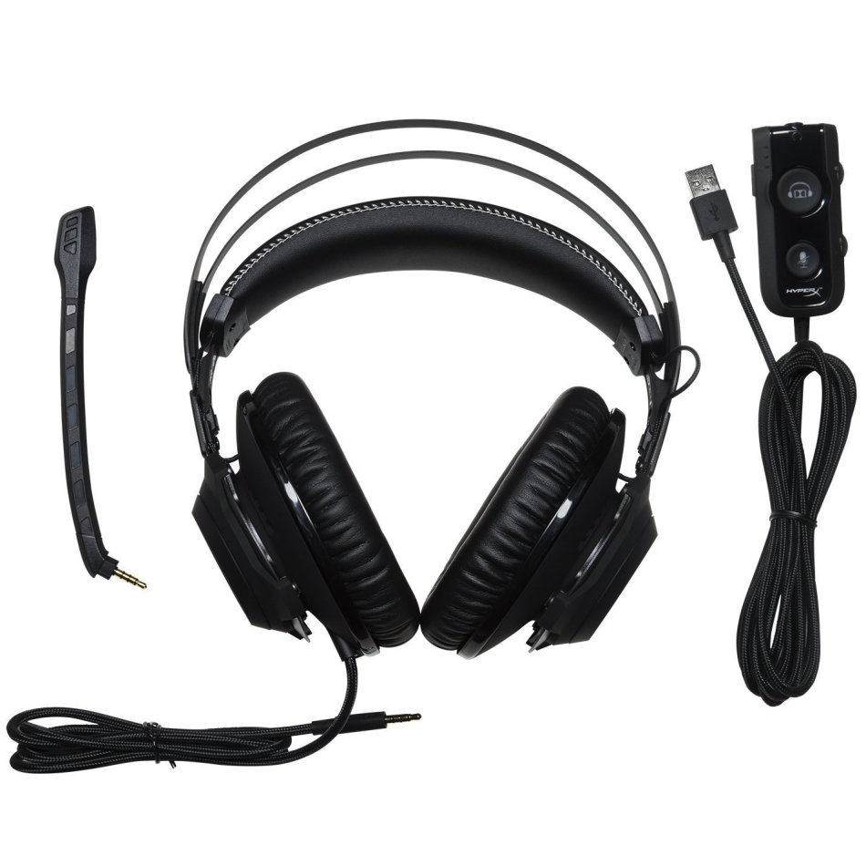 Headsets Hyperx Cloud Revolver S Gaming Headset With Dolby 71 Void Rgb Usb White