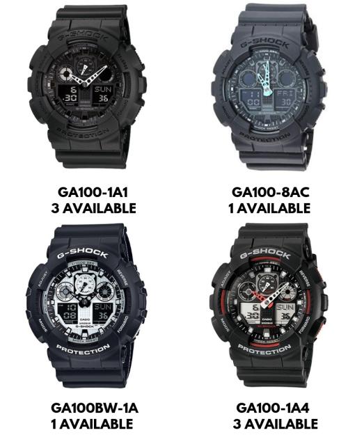 Men's Watches - Casio G-Shock Men's Watches