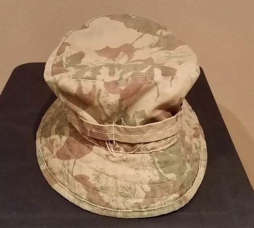 708ae042644 SAP - South African Police 2nd Pattern Camo bush hat. Size 58cm. No rips or  tears.