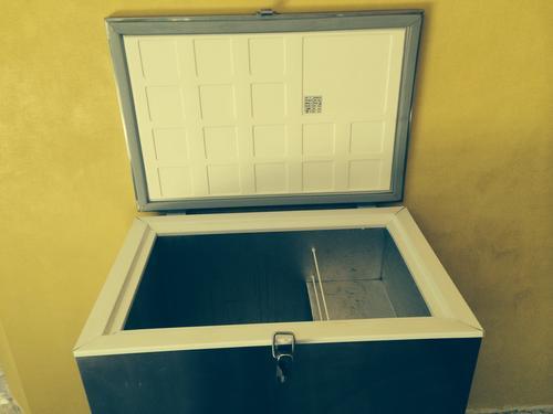 Coolers, Flasks & Bottles - Stainless Steel Fridge Freezer