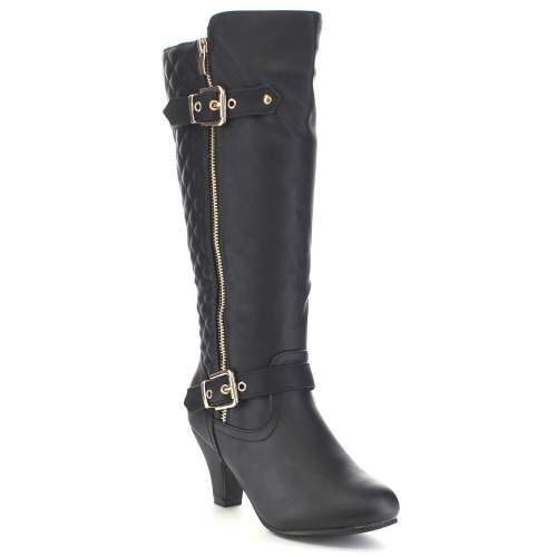boots quilted knee high boots was sold for r399