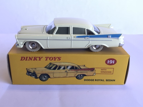 models atlas edition rare dinky toys  dodge royal sedan  read  sold