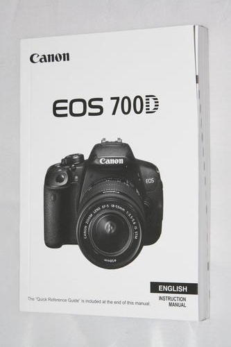 Other Photo Video Canon Eos 700d Instruction Manual For Sale In