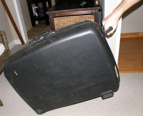 Luggage Sets - Delsey Hard Shell Suitcase was sold for R150.00 on ...