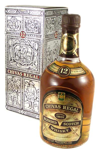 spirits liquor 1990 39 s vintage chivas regal 12 year old blended scotch whisky 750ml from. Black Bedroom Furniture Sets. Home Design Ideas