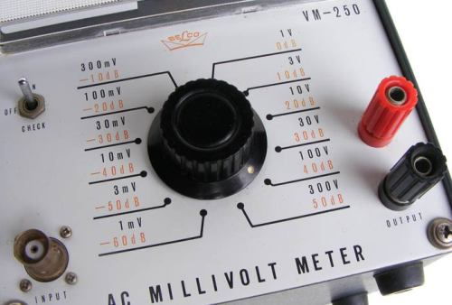 Test equipment vintage belco japanese ac millivolt meter more audioelectronic test equipment will be listed during the coming few weeks so please have a look fandeluxe Choice Image