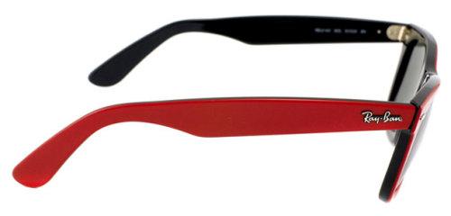 Genuine Ray Ban Wayfarer Redgreen Sunglasses RB2140 955 Rayban