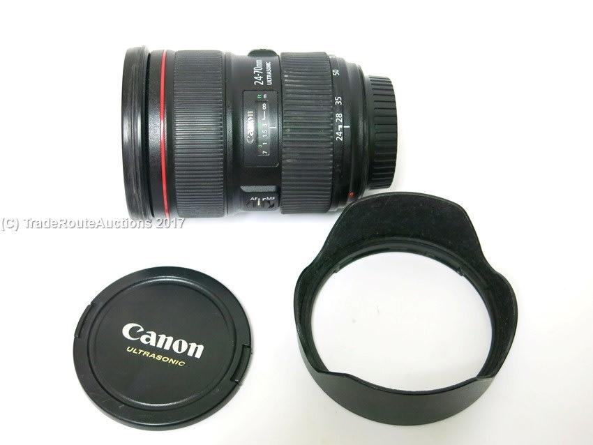Lenses - Canon EF 24-70MM F/2.8L MARK II USM Full Frame Lens for ...