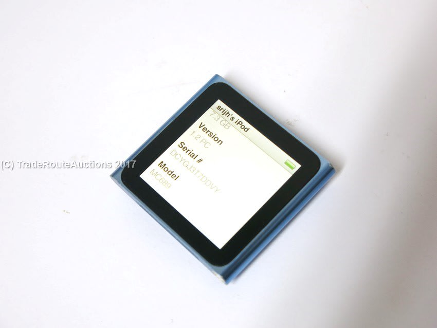 Apple ipods apple ipod nano 6th generation 8gb blue mc689 was apple fandeluxe Gallery