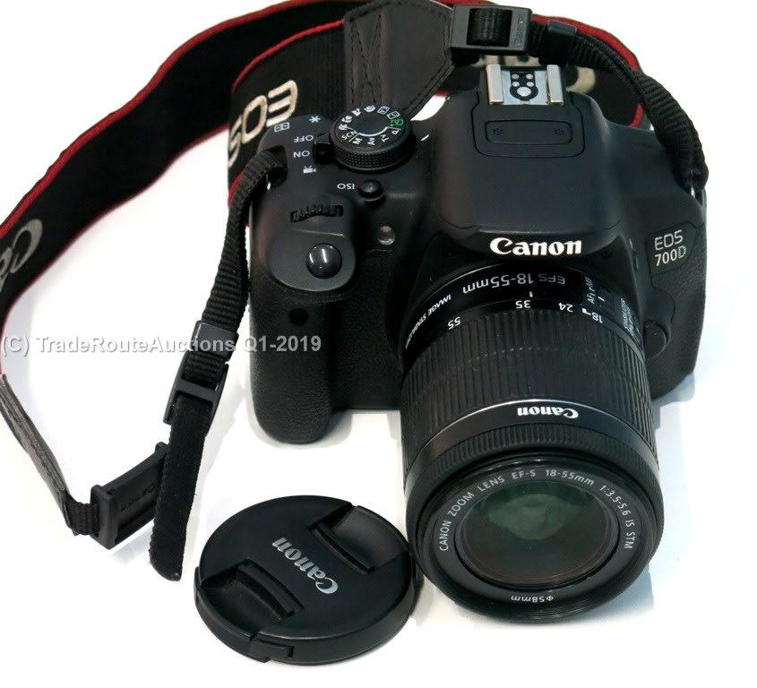 Digital SLR - Canon EOS 700D DIGITAL SLR CAMERA KIT WITH 18