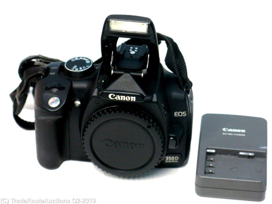 Digital SLR - Canon EOS 350D Digital SLR camera BODY ONLY