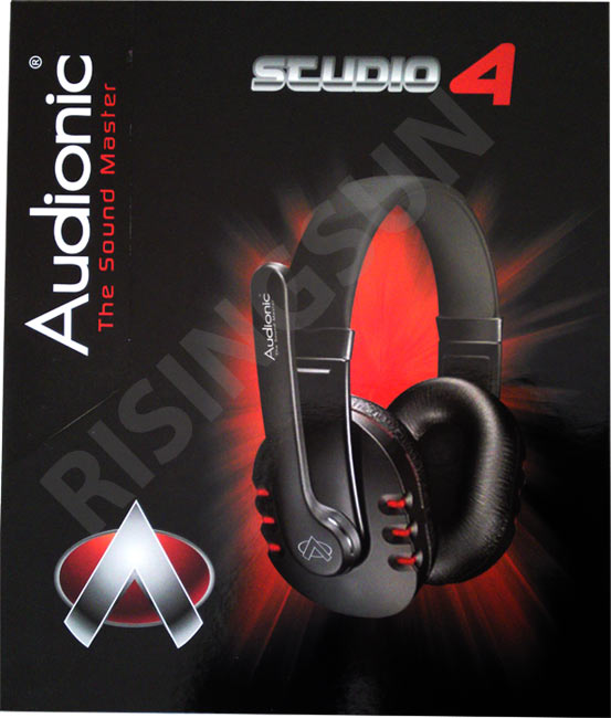 170ca8a9ff9 AUDIONIC STUDIO 4 PROFESSIONAL HEADPHONES WITH MIC FOR SKYPE, LISTENING  MUSIC ETC (BRAND NEW)
