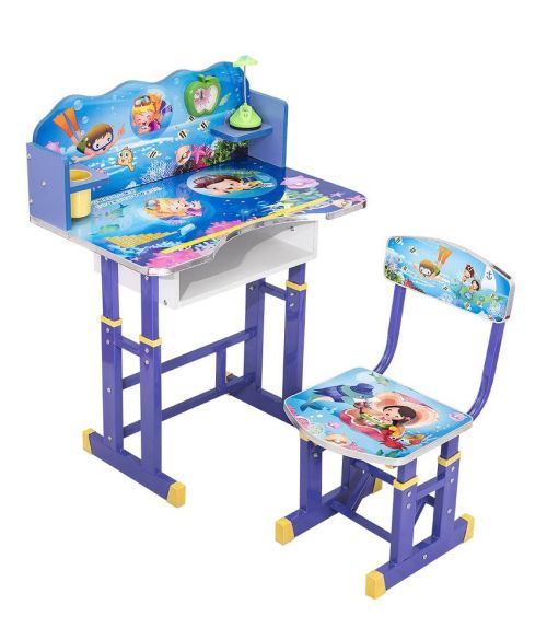The Study Table Set Has A Sleek Trendy And Functional Design Which Makes It Perfect Addition To Your Kids Room