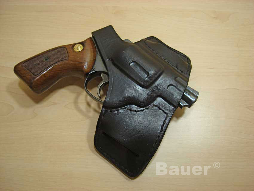 38 Special Revolver High Rider Leather Bikini Holster 32 R2 - 38 R2