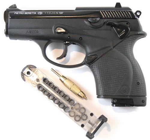 Weapons - Beretta A-9000S Semi Automatic CO2 Air Pistol ... on Beretta Outdoor Living id=59119