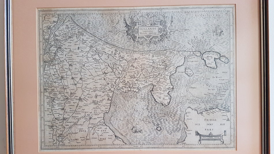 Maps Original Map Of Central Holland 1610 1612 Gerard Mercator Hollandt Comitatus Utricht Episcop Was Listed For R2 950 00 On 13 Jan At 10 16 By Gregsact In Cape Town Id 448879873
