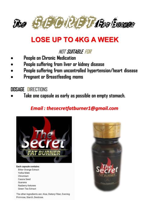 The secret fat burner