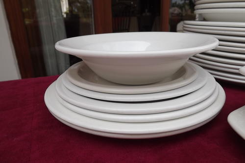 ... 2 smaller dinner plates 2 smaller plates 1 side plate 1 smaller side plate 4 soup plates and 1 deeper soup plate 1 small soup bowl 1 oblong dish ... & Dinnerware u0026 Serving Dishes - Lot of Continental China Dinner Ware ...