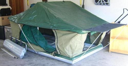 4x4 Accessories Technitop Roof Top Tent Was Sold For R3