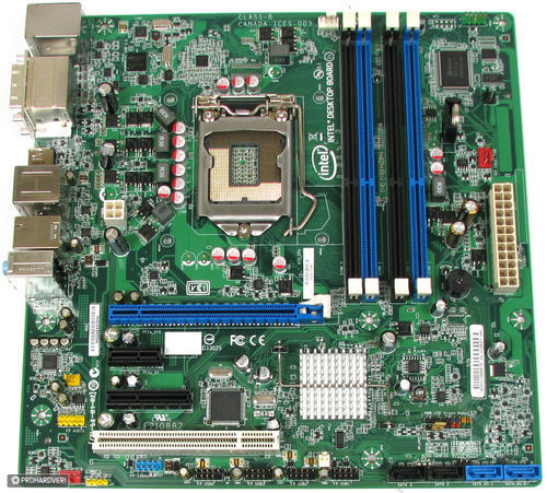 Intel Core i5-2400 Quad-Core 3 1GHz CPU + Intel DQ67SW MATX Mainboard + 8GB  DDR3 Ram