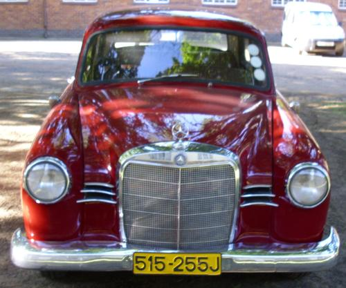 Mercedes Benz Classic Cars For Sale South Africa: Classic Mercedes Benz 1959Diesel Ponton