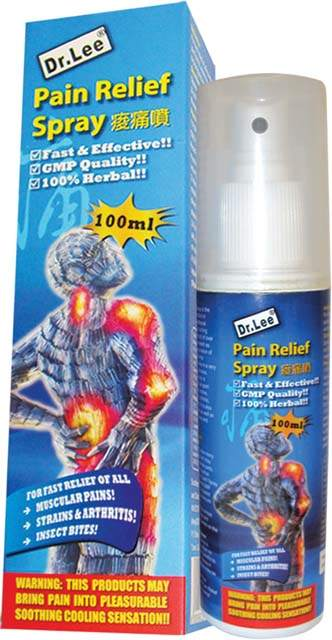 Natural Amp Homeopathic Remedies Dr Lee Pain Relief Spray