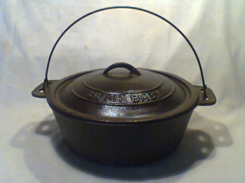 hard to find the original large bush baby pot this is the famous camping potsize 280mm tall to top of handle x 385mm across