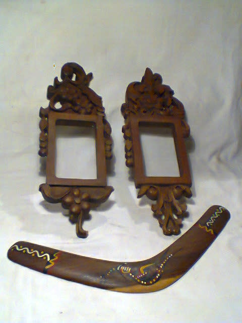 frames mirrors 2 collectible elegant wooden frames plus a