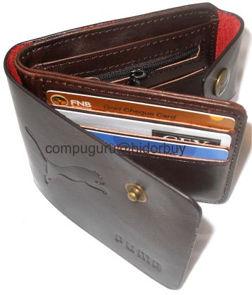 2a4a7b5471d3 -THIS IS YOUR PUMA WALLET ACTUAL PICTURES INSIDE OUT-
