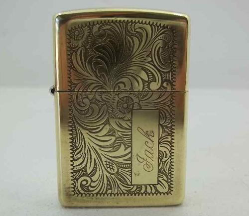 Smoking Accessories Stunning Gold Coloured Zippo