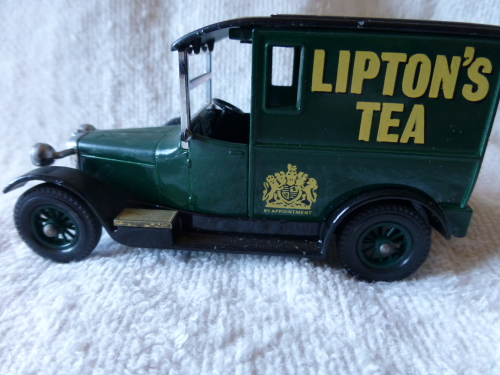 Talbot Liptons Tea 1927 Matchbox Made In England By Lesney Nr 10 Antiquitäten & Kunst