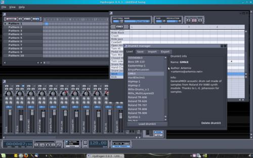Music Software - Hydrogen Advanced Drum Machine MUSIC BEAT
