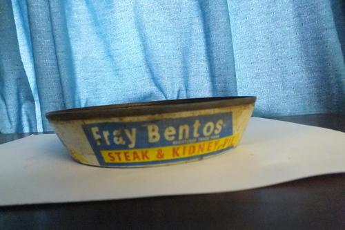 Other Kitchenalia - Tin - Fray Bentos 1961 - Steak and ...