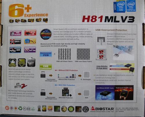 Biostar H81MLV3 Socket 1150