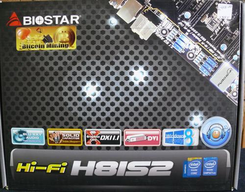Motherboards - Biostar Hi-Fi H81S2 Socket 1150 was sold for R995 00