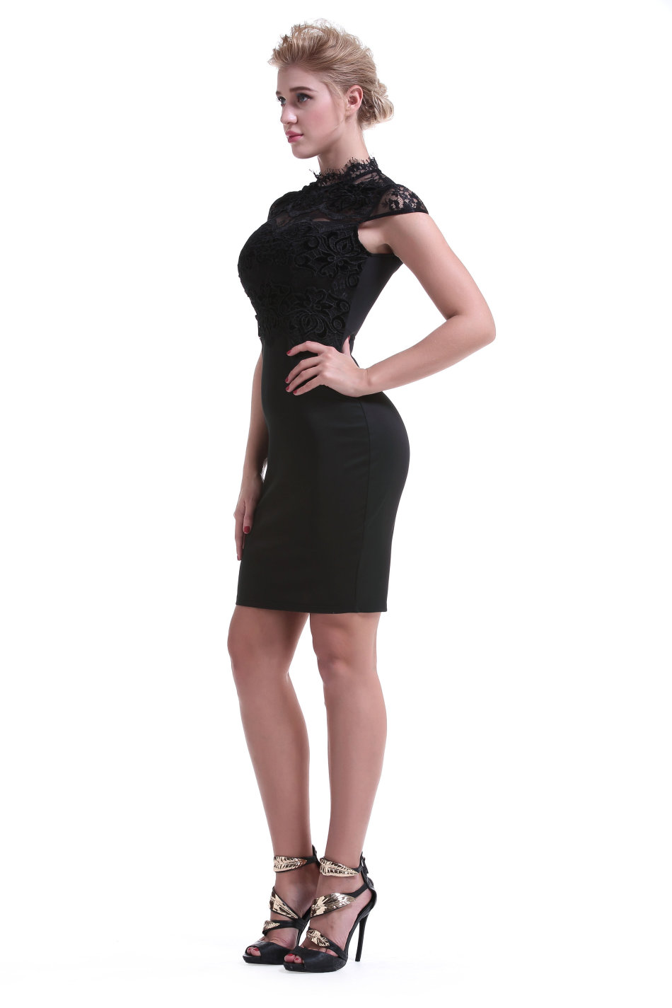 6f96dc9cba Formal Dresses - Cocktail Dresses Formal Black Lace Pencil Dress was ...