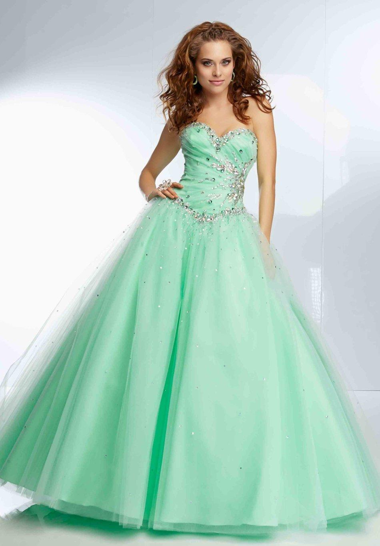 Formal Dresses - BALL GOWN/BALL GOWNS/GREEN BALL GOWN/DANCE BALL ...