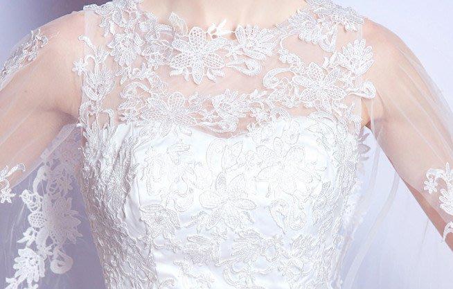 Wedding dresses white lace applique a line wedding dress s for
