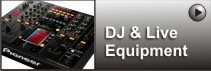 DJ & Live Sound Equipment from Orange Music