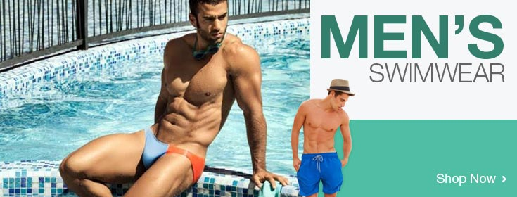 Men's Swimwear. Shop Now!