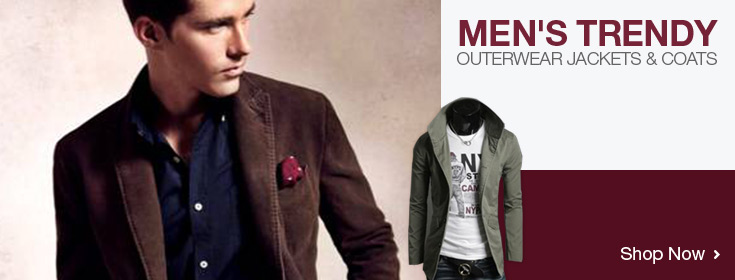 Men's Jackets & Coats. Shop Now!