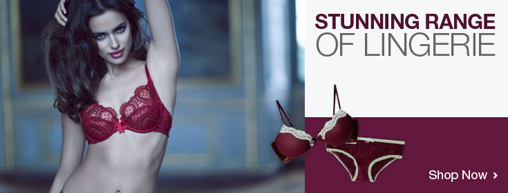 Stunning Range Of Lingerie. Shop Now!