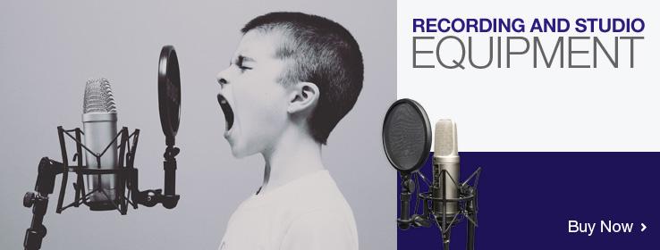 Buy recording and studio equipment online!