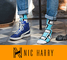 Nic Harry Socks. Shop Now!