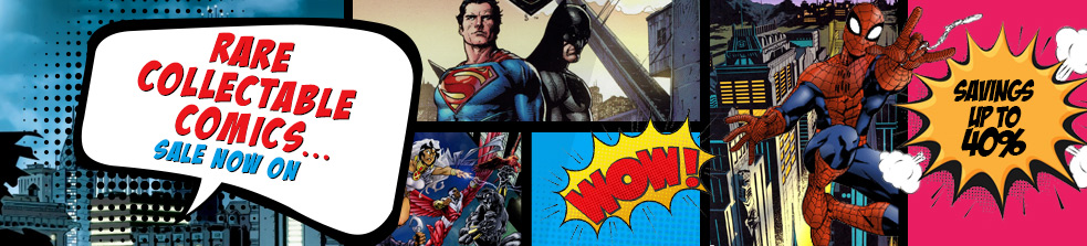 Rare Collectable Comics. Up to 40% Off