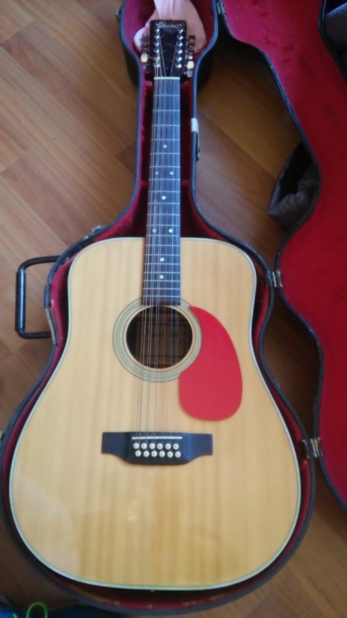 acoustic ibanez vintage 646 12 string acoustic guitar was listed for r3 on 13 sep at 17. Black Bedroom Furniture Sets. Home Design Ideas