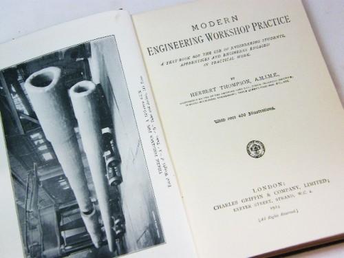 Modern engineering & workshop practice by Herbert Thompson
