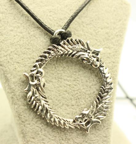 Skyrim Ouroboros Necklace