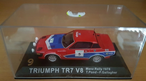 Models Triumph Tr7 V8 Rally Die Cast Model Was Listed For R10000