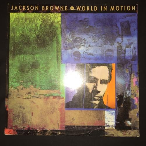 Pop Rock - Jackson Browne - World In Motion (LP) Vinyl ...